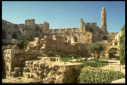 picture of old Jerusalem