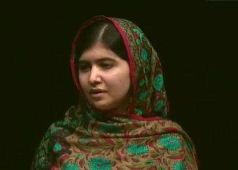 Malala Yousafzai Nobel prize speech